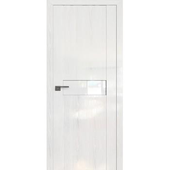 Дверь Профиль дорс 2.06STP Pine White glossy - со стеклом (Товар № ZF209981)