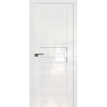 Дверь Профиль дорс 2.03STP Pine White glossy - со стеклом (Товар № ZF210002)