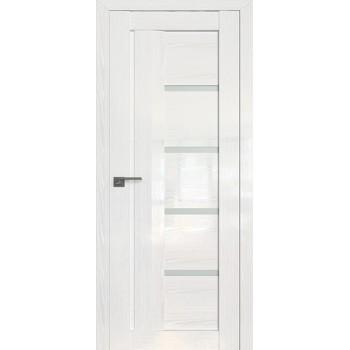 Дверь Профиль дорс 2.08STP Pine White glossy - со стеклом (Товар № ZF210011)