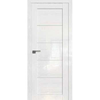 Дверь Профиль дорс 2.11STP Pine White glossy - со стеклом (Товар № ZF210016)