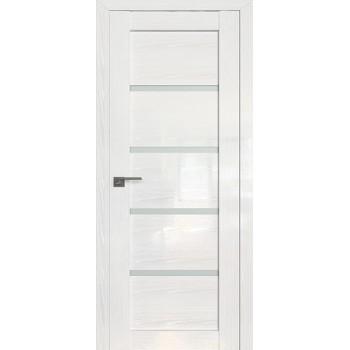 Дверь Профиль дорс 2.09STP Pine White glossy - со стеклом (Товар № ZF210022)