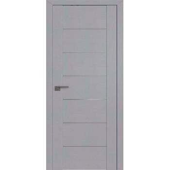 Дверь Профиль дорс 2.07STP Pine Manhattan Grey - глухая алюминиевый молдинг (Товар № ZF210082)