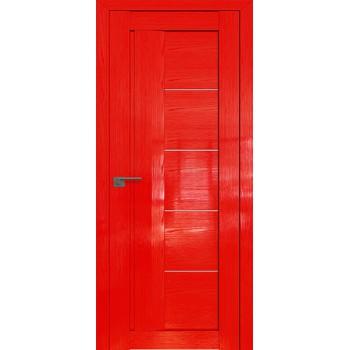 Дверь Профиль дорс 2.10STP Pine Red glossy - со стеклом (Товар № ZF210014)