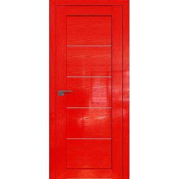 Дверь Профиль дорс 2.11STP Pine Red glossy - со стеклом (Товар № ZF210015)