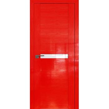 Дверь Профиль дорс 2.01STP Pine Red glossy - со стеклом (Товар № ZF210031)