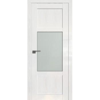Дверь Профиль дорс 2.15STP Pine White glossy - со стеклом (Товар № ZF209983)