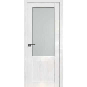 Дверь Профиль дорс 2.17STP Pine White glossy - со стеклом (Товар № ZF209985)