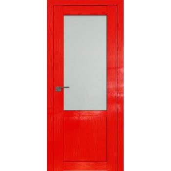 Дверь Профиль дорс 2.17STP Pine Red glossy - со стеклом (Товар № ZF210071)