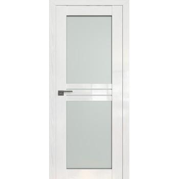 Дверь Профиль дорс 2.56STP Pine White glossy - со стеклом (Товар № ZF209992)