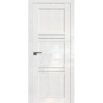 Дверь Профиль дорс 2.57STP Pine White glossy - со стеклом (Товар № ZF209993)