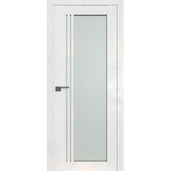 Дверь Профиль дорс 2.51STP Pine White glossy - со стеклом (Товар № ZF210017)