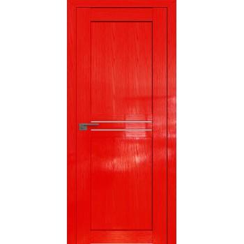 Дверь Профиль дорс 2.55STP Pine Red glossy - со стеклом (Товар № ZF210026)