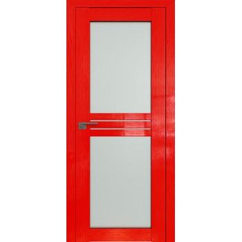 Дверь Профиль дорс 2.56STP Pine Red glossy - со стеклом (Товар № ZF210030)