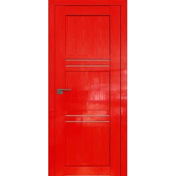 Дверь Профиль дорс 2.57STP Pine Red glossy - со стеклом (Товар № ZF210076)