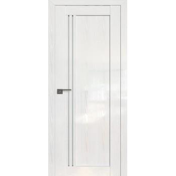Дверь Профиль дорс 2.50STP Pine White glossy - со стеклом (Товар № ZF209991)