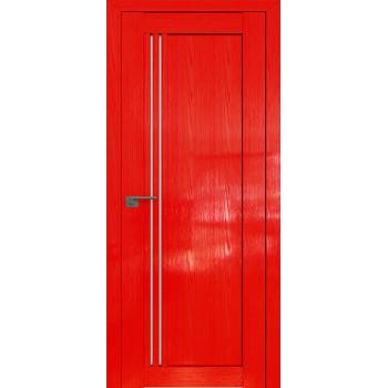 Дверь Профиль дорс 2.50STP Pine Red glossy - со стеклом (Товар № ZF210020)