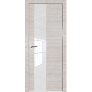 Дверь Профиль дорс 5Z Эш вайт кроскут - со стеклом (Товар № ZF209394)