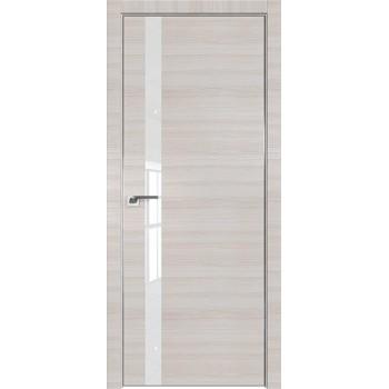 Дверь Профиль дорс 6Z Эш вайт кроскут - со стеклом (Товар № ZF209399)