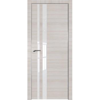 Дверь Профиль дорс 16Z Эш вайт кроскут - со стеклом (Товар № ZF209445)