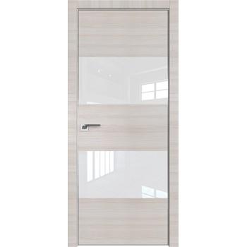 Дверь Профиль дорс 10Z Эш вайт кроскут - со стеклом (Товар № ZF209444)