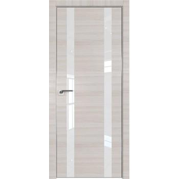 Дверь Профиль дорс 9Z Эш вайт кроскут - со стеклом (Товар № ZF209451)