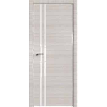 Дверь Профиль дорс 19Z Эш вайт кроскут - со стеклом (Товар № ZF209465)