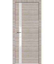 Дверь Профиль дорс 6Z Капуччино кроскут - со стеклом (Товар № ZF209395)