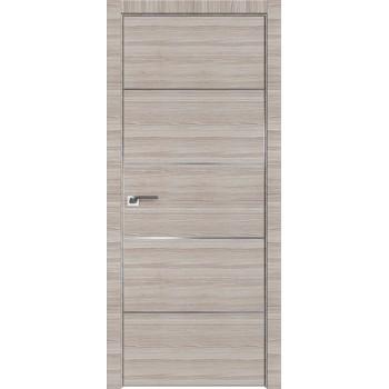 Дверь Профиль дорс 7Z Капуччино кроскут - глухая (Товар № ZF209448)
