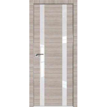 Дверь Профиль дорс 9Z Капуччино кроскут - со стеклом (Товар № ZF209450)