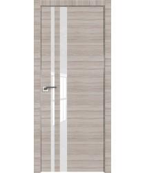 Дверь Профиль дорс 16Z Капуччино кроскут - со стеклом (Товар № ZF209454)