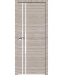 Дверь Профиль дорс 19Z Капуччино кроскут - со стеклом (Товар № ZF209452)