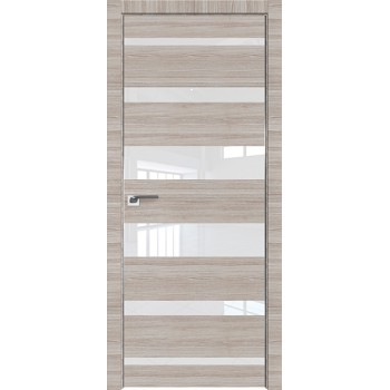 Дверь Профиль дорс 18Z Капуччино кроскут - со стеклом (Товар № ZF209456)