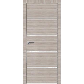 Дверь Профиль дорс 20Z Капуччино кроскут - со стеклом (Товар № ZF209461)