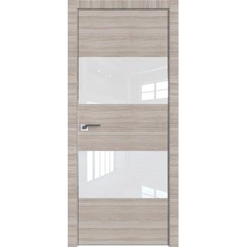 Дверь Профиль дорс 10Z Капуччино кроскут - со стеклом (Товар № ZF209467)