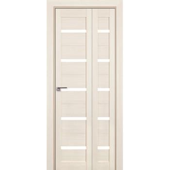 Складная межкомнатная Дверь-Книжка 7Х Эш вайт мелинга (Товар № ZF210694)