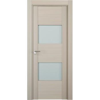 Дверь Профиль дорс 21Х Эш вайт мелинга - со стеклом (Товар № ZF208872)