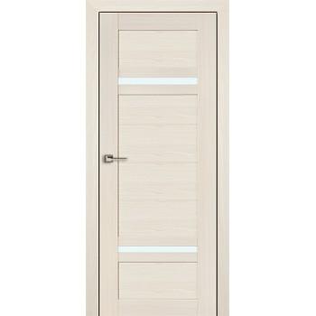 Дверь Профиль дорс 2.45Х Эш вайт мелинга - со стеклом (Товар № ZF208796)