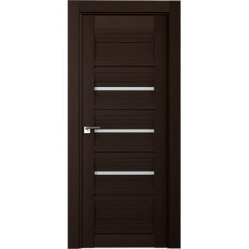 Дверь Профиль дорс 18Х Венге мелинга - со стеклом (Товар № ZF208848)