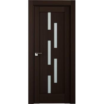 Дверь Профиль дорс 30Х Венге мелинга - со стеклом (Товар № ZF208849)