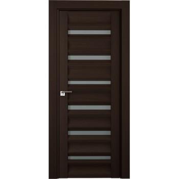Дверь Профиль дорс 57Х Венге мелинга - со стеклом (Товар № ZF210765)