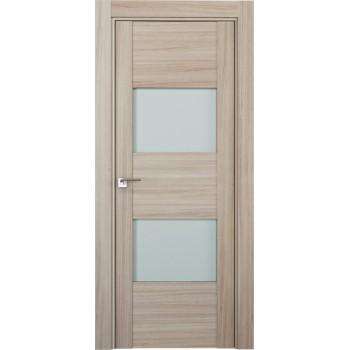 Дверь Профиль дорс 21Х Капучино мелинга - со стеклом (Товар № ZF208928)