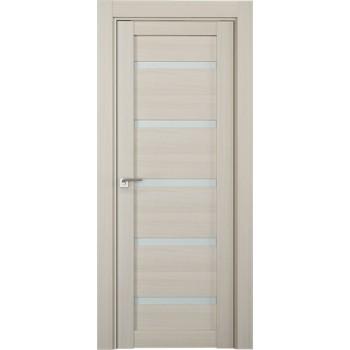 Дверь Профиль дорс 7Х Эш вайт мелинга - со стеклом (Товар № ZF208778)