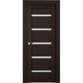 Дверь Профиль дорс 7Х Венге мелинга - со стеклом (Товар № ZF208784)