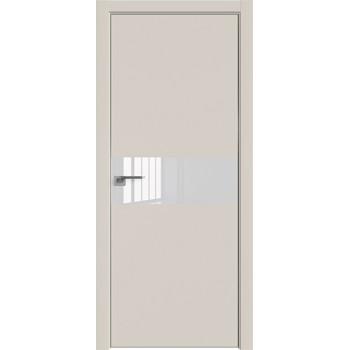 Дверь профиль дорс 4Е Магнолия сатинат - со стеклом (Товар № ZF209487)