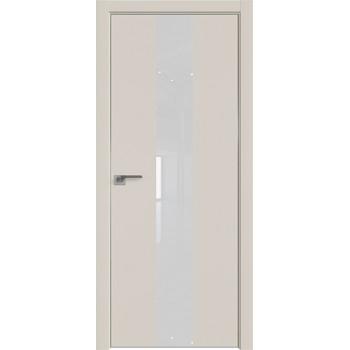 Дверь профиль дорс 25Е Магнолия сатинат - со стеклом (Товар № ZF209607)