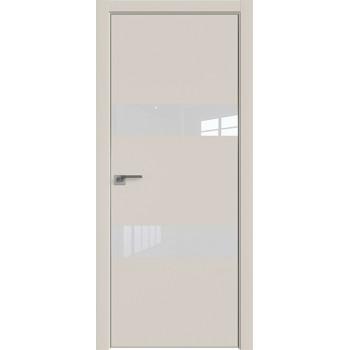 Дверь Профиль дорс 34Е Магнолия сатинат - со стеклом (Товар № ZF209615)