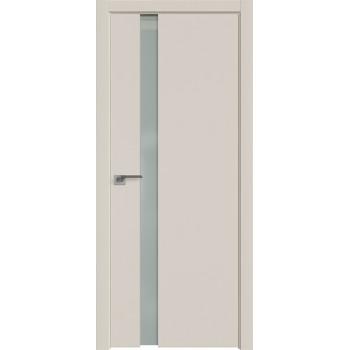 Дверь Профиль дорс 36Е Магнолия сатинат - со стеклом (Товар № ZF209618)