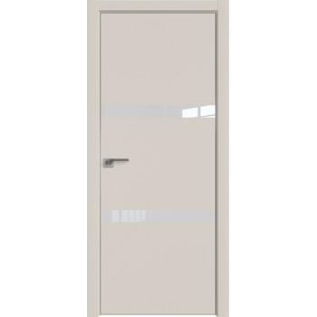 Дверь Профиль дорс 30Е Магнолия сатинат - со стеклом (Товар № ZF209616)