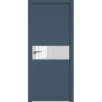 Дверь профиль дорс 4Е Антрацит - со стеклом (Товар № ZF209482)