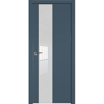 Дверь профиль дорс 5Е Антрацит - со стеклом (Товар № ZF209490)
